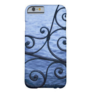 Lake Como, detail, view of walkway iron railing Barely There iPhone 6 Case
