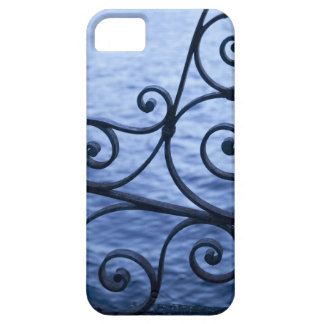 Lake Como, detail, view of walkway iron railing iPhone 5 Cover