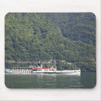 Lake Como, ferry boat Mouse Pad