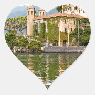 Lake Como Heart Sticker