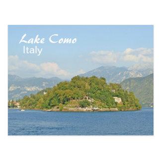 Lake Como, Italy - Postcard