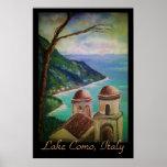 Lake Como, Italy Poster