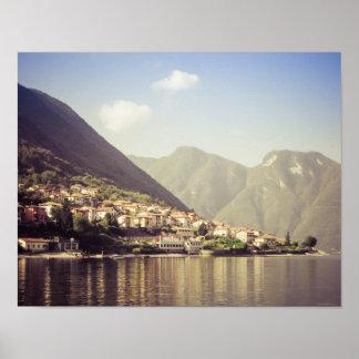 Lake Como, Italy, Poster