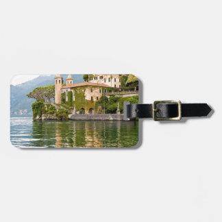 Lake Como Luggage Tag