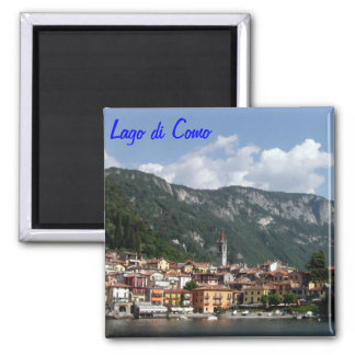 Lake Como 2 Inch Square Magnet