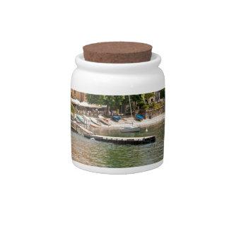 Lake Como MIlan Candy Dish