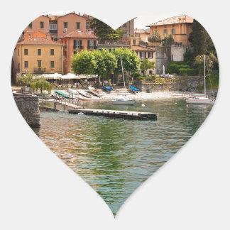 Lake Como MIlan Heart Sticker