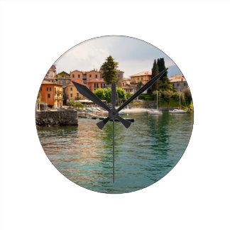 Lake Como MIlan Round Clock