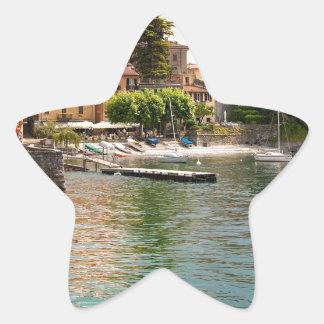 Lake Como MIlan Star Sticker