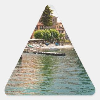 Lake Como MIlan Triangle Sticker