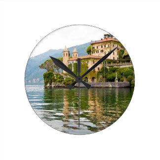 Lake Como Round Clock