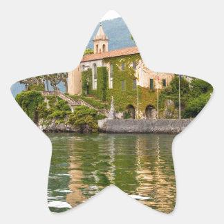Lake Como Star Sticker