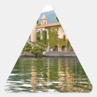 Lake Como Triangle Sticker