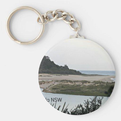 Lake Conjola NSW Basic Round Button Keychain
