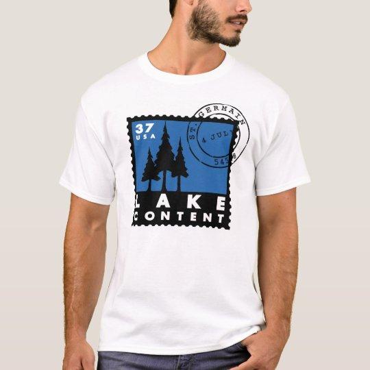 Lake Content T-Shirt