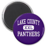 Lake County - Panthers - Senior - Leadville Refrigerator Magnets