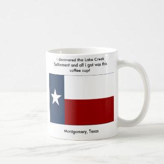 Lake Creek Settlement - Montgomery , Texas Classic White Coffee Mug
