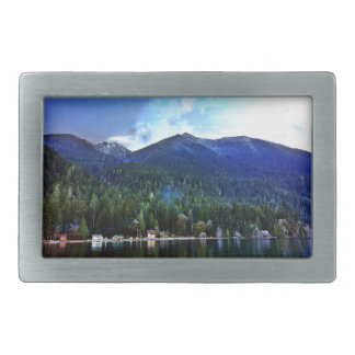 Lake Crescent Cabins Olympic National Belt Buckle
