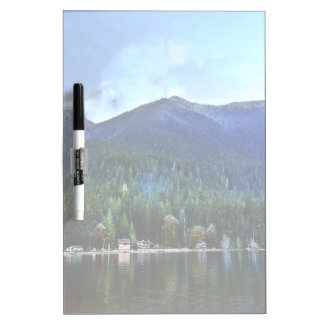 Lake Crescent Cabins Olympic National Dry-Erase Board
