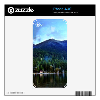 Lake Crescent Cabins Olympic National iPhone 4 Decal