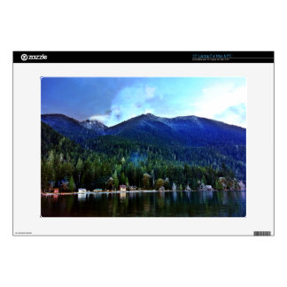 Lake Crescent Cabins Olympic National Laptop Decals