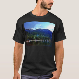Lake Crescent Cabins Olympic National T-Shirt