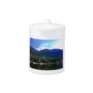 Lake Crescent Cabins Olympic National Teapot