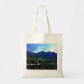 Lake Crescent Cabins Olympic National Tote Bag