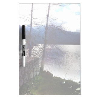 Lake Crescent off U.S. Route 101 Frosted Dry-Erase Board