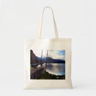 Lake Crescent off U.S. Route 101 Tote Bag