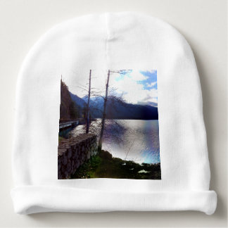 Lake Crescent Olympic National Park Baby Beanie