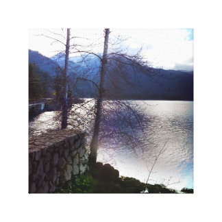 Lake Crescent Olympic National Park Canvas Print