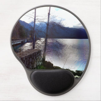 Lake Crescent Olympic National Park Gel Mouse Pad