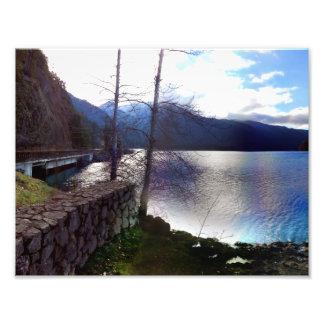 Lake Crescent Olympic National Park Photo Print