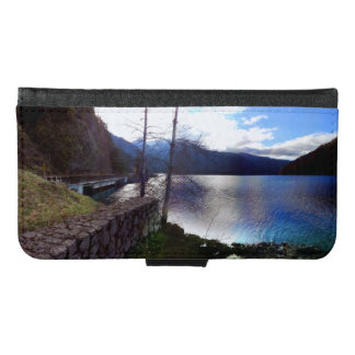 Lake Crescent Olympic National Park Samsung Galaxy S6 Wallet Case
