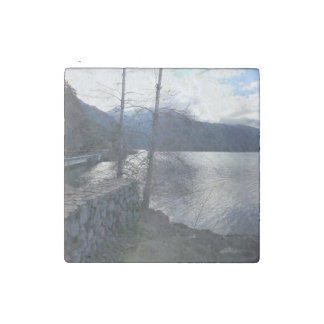 Lake Crescent Olympic National Park Stone Magnet