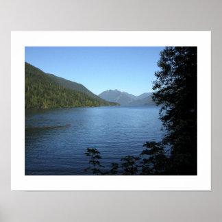 Lake Crescent-Print