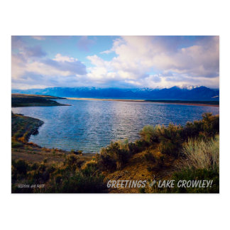 Lake Crowley #2 Postcard