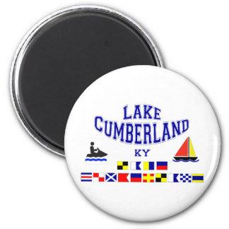 Lake Cumberland KY Sig Flag 2 Inch Round Magnet