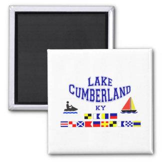 Lake Cumberland KY Sig Flag 2 Inch Square Magnet