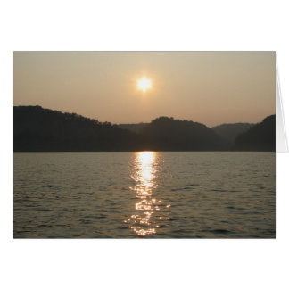 Lake Cumberland, KY Stationery Note Card