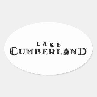 Lake Cumberland Oval Sticker