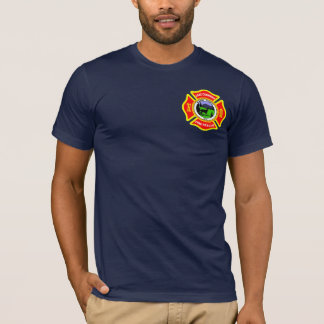 Lake Cushman Fire Duty Shirt