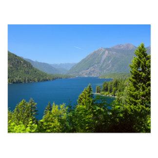 Lake Cushman in Summer Postcard