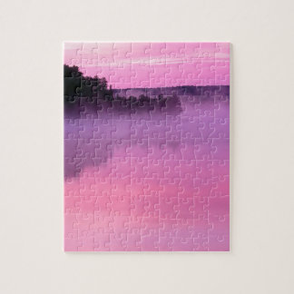 Lake Dawn Ensign Boundary Waters Canoe Area Jigsaw Puzzle