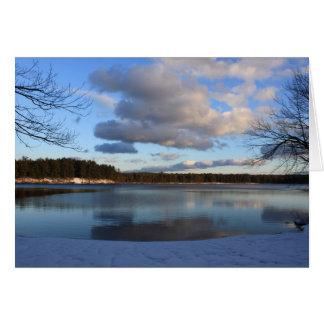 Lake Dennison Winter Card