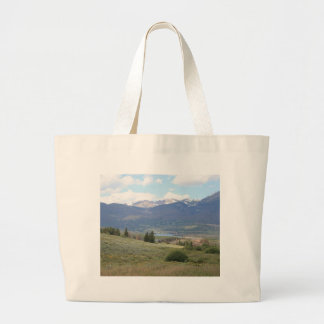 Lake Dillon Large Tote Bag
