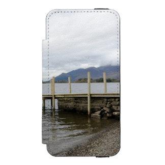 Lake District, Derwentwater Wallet Case For iPhone SE/5/5s