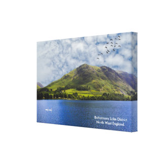 Lake District image for Wrapped-Canvas Canvas Print