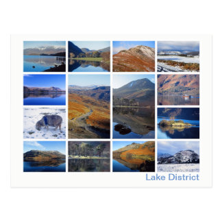 Lake District multi-image 2 Postcard
